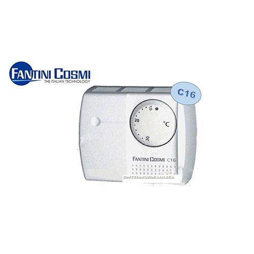 termostato ambiente a rotella c16 fantini e cosmi