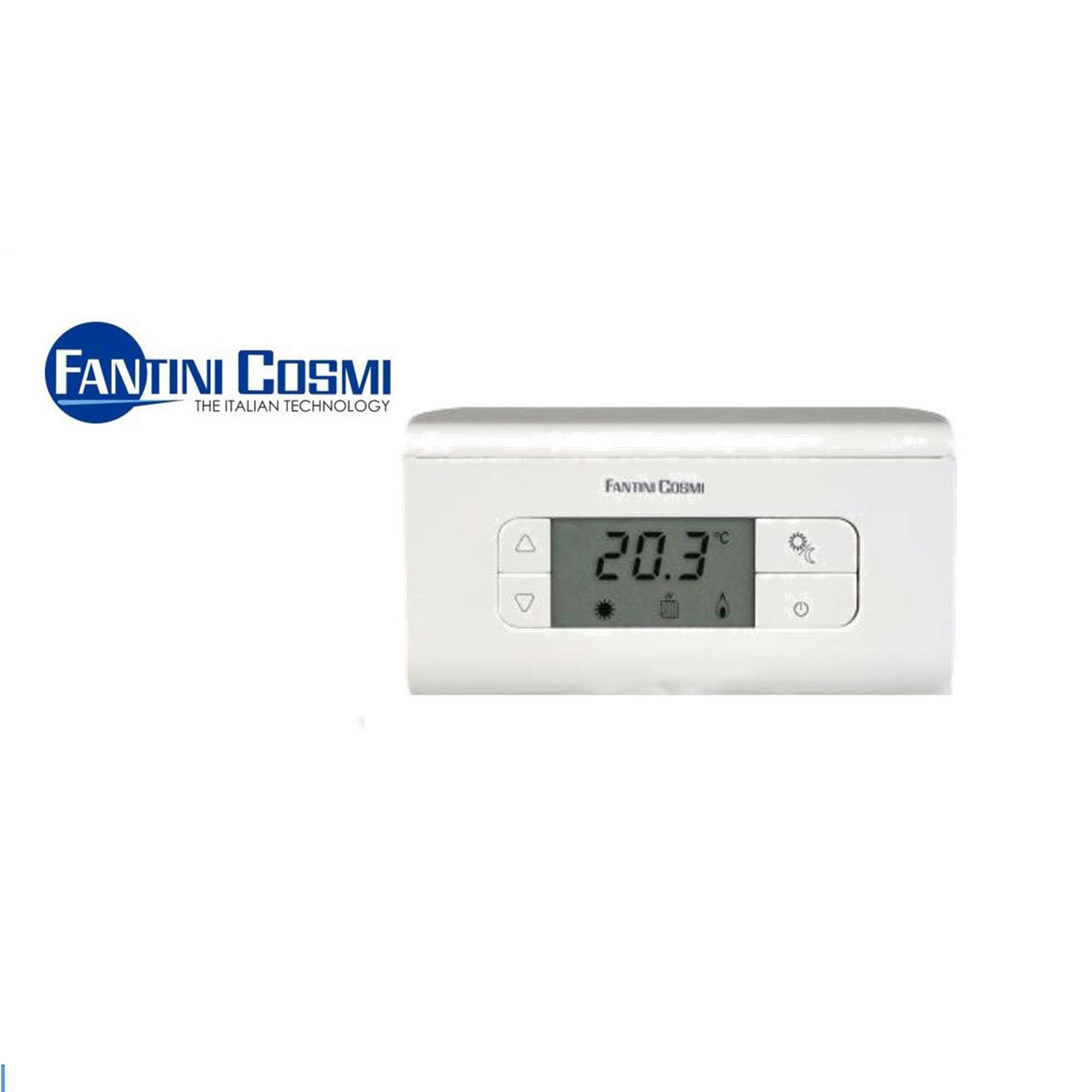 termostato ambiente ch115 ch116 ch117 fantini cosmi parete