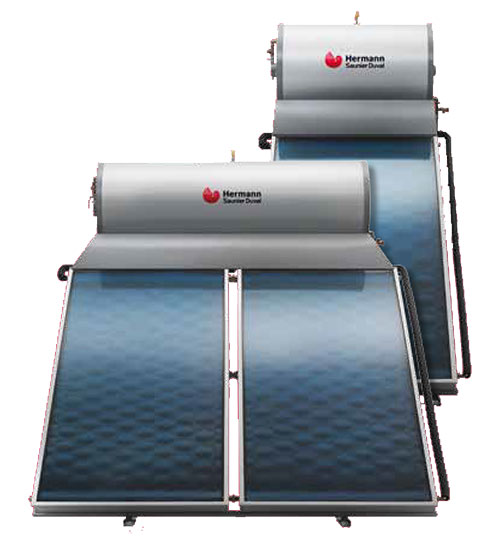 Pannello Solare Termico A Circolazione Naturale Bollitore Integrato 200 Litri : Pannello solare termico hermann saunier duval naturale