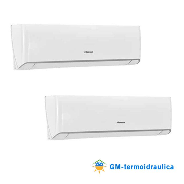 Condizionatore climatizzatore hisense energy dual split 12 for Condizionatore doppio split