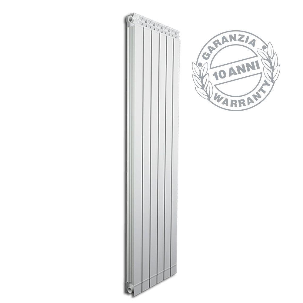 Radiatori In Alluminio O Acciaio dettagli su radiatori alluminio termosifone fondital garda dual 80 elementi  140 160 180 200