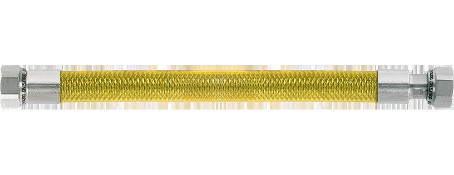 Tubo per gas acciaio flessibile cucina inox f f 1 2 parigi 50 cm normativa ce ebay - Tubo flessibile gas cucina normativa ...